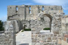 Ancienne abbaye Saint-Félix-de-Montceau - Français:   Gigean ( Hérault - France) - Abbaye Saint-Félix-de-Montceau -
