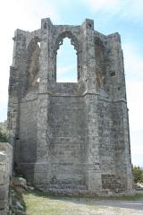 Ancienne abbaye Saint-Félix-de-Montceau - Français:   Gigean ( Hérault - France) - Abbaye Saint-Félix-de-Montceau - chevet gothique