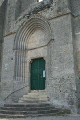Ancienne abbaye Saint-Félix-de-Montceau - Français:   Gigean ( Hérault - France) - Abbaye Saint-Félix-de-Montceau - portail gothique