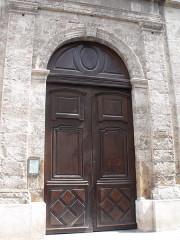Eglise Saint-Pierre - Français:   Eglise saint Pierre, Gignac - Porte