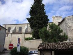 Eglise Saint-Martin - English: Lansargues (Hérault, Fr) église vue du nord