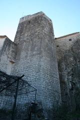 Château - Français:   Laroque - Donjon du château.