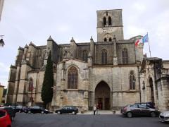 Ancienne cathédrale, actuelle église paroissiale Saint-Fulcran - English: Lodève (Hérault, Fr) cathédrale