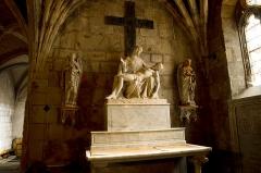 Ancienne cathédrale, actuelle église paroissiale Saint-Fulcran - Lodève (Hérault), Cathédrale Saint Fulcran - Pietà