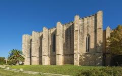 Eglise Sainte-Cécile - Français:   Église Sainte-Cécile de Loupian. Loupian, Hérault, France.
