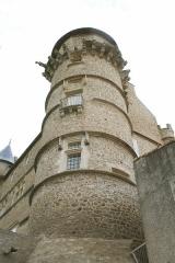 Domaine - Français:   Margon (Hérault) - Tour nord-ouest du château.