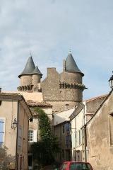 Domaine - Français:   Margon (Hérault) - Rue du château.