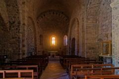 Eglise paroissiale Saint-Etienne -  NAve of the Saint Stephen church.