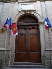 Eglise Notre-Dame des Tables - Català: Porta de l'Església Notre-Dame (Montpeller)