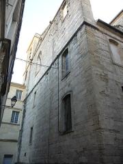 Eglise Notre-Dame des Tables - Català: Façana posterior de l'Església Notre-Dame (Montpeller)