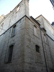 Eglise Notre-Dame des Tables - Català: Cantó posterior de l'Església Notre-Dame (Montpeller)
