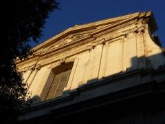 Eglise Notre-Dame des Tables - Català: Detall de la façana principal de l'Església Notre-Dame (Montpeller)
