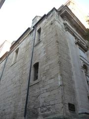 Eglise Notre-Dame des Tables - Català: Cantó anterior de l'Església Notre-Dame (Montpeller)