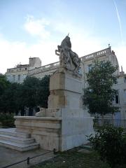 Fontaine des Licornes - Català: Font dels Unicorns (Montpeller)