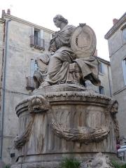 Fontaine de la Préfecture - Català: Font de la Plaça de Chabaneau, Prefectura de l'Erau (Montpeller).