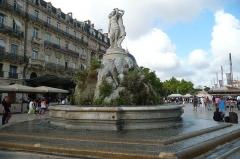 Fontaine des Trois Grâces - English: La Fontaine des Trois Grâces sur la Place de la Comédie, Montpellier