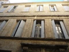 Hôtel d'Avèze - Català: Hôtel d'Avèze (Montpeller)
