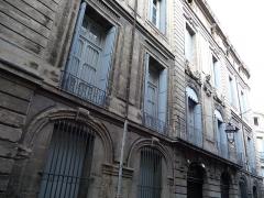Hôtel de Baudon de Mauny - Català: Façana principal de l'Hôtel de Baudon de Mauny (Montpeller)