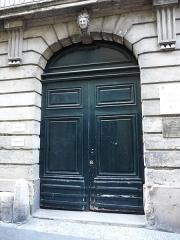 Hôtel de Baudon de Mauny - Català: Porta de l'Hôtel de Baudon de Mauny (Montpeller)