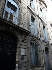 Hôtel de Baudon de Mauny - Català: Façana principal (part dreta) i porta de l'Hôtel de Baudon de Mauny (Montpeller)