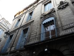 Hôtel de Baudon de Mauny - Català: Façana principal (part esquerra) de l'Hôtel de Baudon de Mauny (Montpeller)
