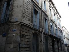 Hôtel de Baudon de Mauny - Català: Cantó i façana principal de l'Hôtel de Baudon de Mauny (Montpeller)