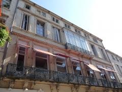 Hôtel de Bénézet - Català: Part esquerra de la façana de l'Hôtel de Bénézet (Montpeller)