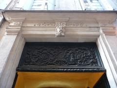 Hôtel de Magny ou Cabanès de Puimisson - Català:   Llinda de la porta de l\'Hôtel de Magny (Montpeller)