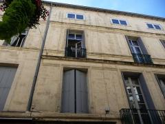 Hôtel de Campan - Català: Façana de l'Hôtel de Campan (Montpeller)