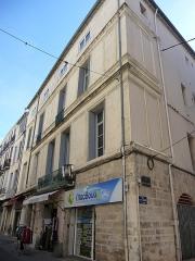 Hôtel de Campan - Català: Cantó de la façana de l'Hôtel de Campan (Montpeller)
