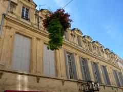 Ancien Hôtel de Castries - Català: Façana de l'Hôtel de Castries (Montpeller)