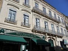 Hôtel de Claris - Català: Façana de l'Hôtel de Claris (Montpeller)