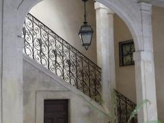 Hôtel de Fizes - Català: Escala de l'Hôtel de Fizes (Montpeller)