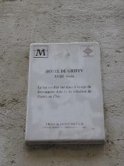 Hôtel de Griffy - Català: Hôtel de Griffy (Montpeller)