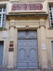Hôtel d'Hostalier - Català: Porta de l'Hôtel d'Hostalier (Montpeller)