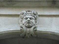 Hôtel de Joubert - Català:   Escultura a la façana principal dreta de l\'Hôtel de Joubert