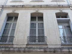 Hôtel de Joubert - Català:   Façana de l\'Hôtel de Joubert