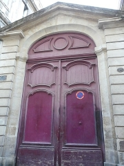 Hôtel de Joubert - Català:   Porta de l\'Hôtel de Joubert (Montpeller)