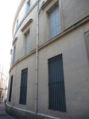Hôtel de Manse - Català: Façana (vista des de la dreta) de l'Hôtel de Manse (Montpeller)