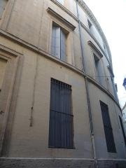 Hôtel de Manse - Català: Façana (vista des de l'esquerra) de l'Hôtel de Manse (Montpeller)