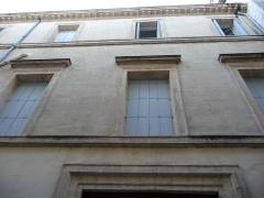 Hôtel de Manse - Català: Part dreta de la façana de l'Hôtel de Manse (Montpeller)