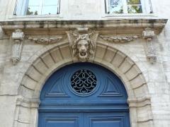 Ancien hôtel de Mirman - Català: Hôtel de Mirman (Montpeller)