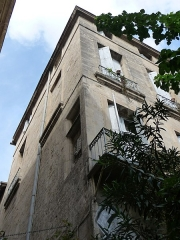 Hôtel de Montcalm - Català: Façana de l'Hôtel de Montcalm (Montpeller)