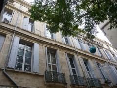 Hôtel de Montferrier - Català: Façana principal de l'Hôtel de Montferrier (Montpeller)