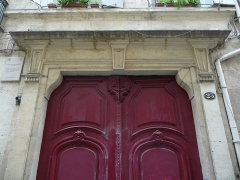 Hôtel de Montferrier - Català: Llinda de la porta principal de l'Hôtel de Montferrier (Montpeller)