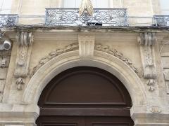 Hôtel Périer - Català: Arc de la porta principal de l'Hôtel Périer (Montpeller)
