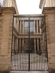 Hôtel de Saint-Côme - Català: Porta lateral de l'Hôtel de Saint-Côme (Montpeller)