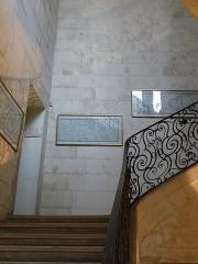 Hôtel de Saint-Côme - Català: Escala de l'Hôtel de Saint-Côme (Montpeller)