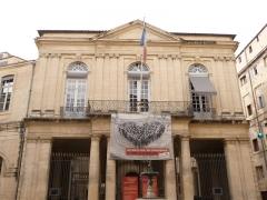 Hôtel de Saint-Côme - Català: Façana principal de l'Hôtel de Saint-Côme (Montpeller)