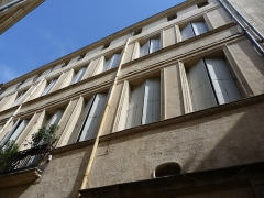 Hôtel de Saint-Félix - Català: Façana de l'Hôtel de Saint-Félix (Montpeller)